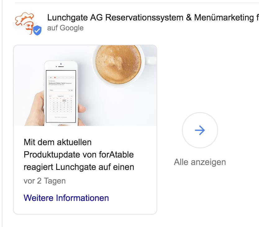 Beitrag Lunchgate