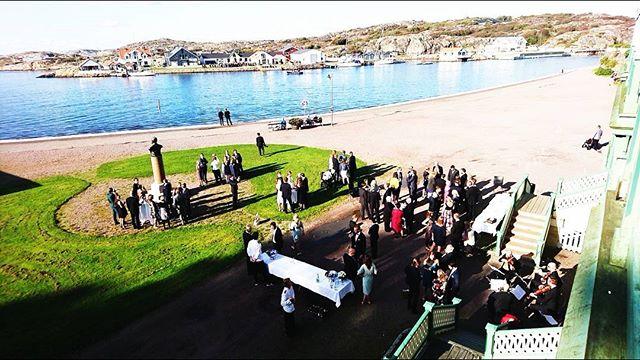 Sommarens sista bröllop är i full gång! Vackert ❤️ Boka ert drömbröllop på www.societetshuset.se