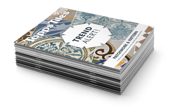 Topps Tiles Marketing Material