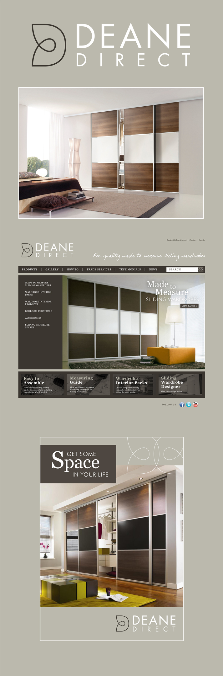Deane Direct Branding Project