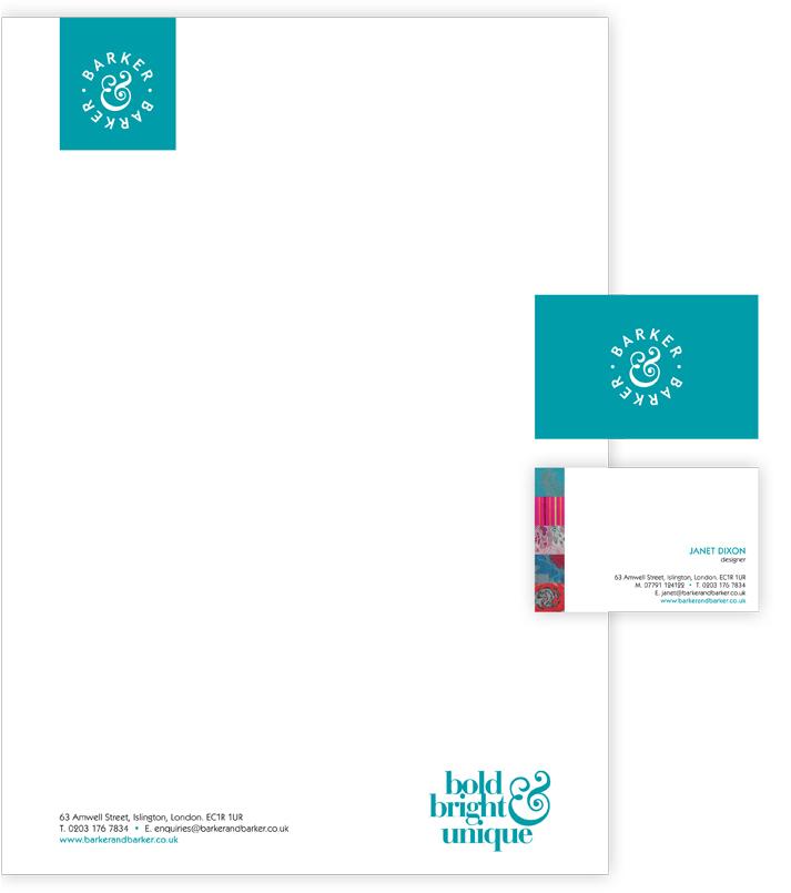 Barker & Barker Stationery Design