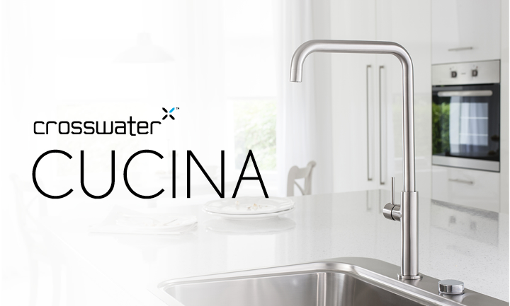 A cutting-edge kitchen brassware range, Cucina is the latest addition to the Group's brands.