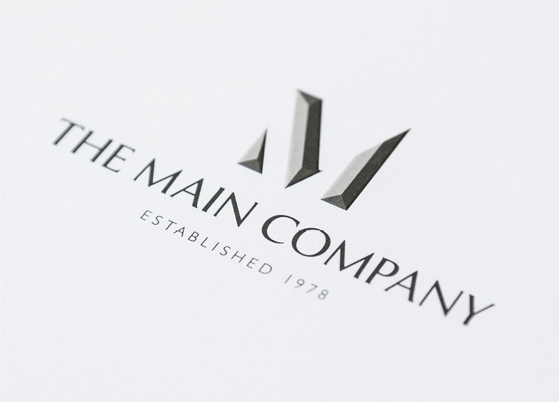 The Main Company Corporate Identity