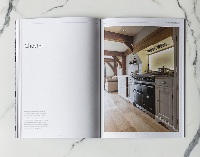 The Main Company Kitchen Brochure