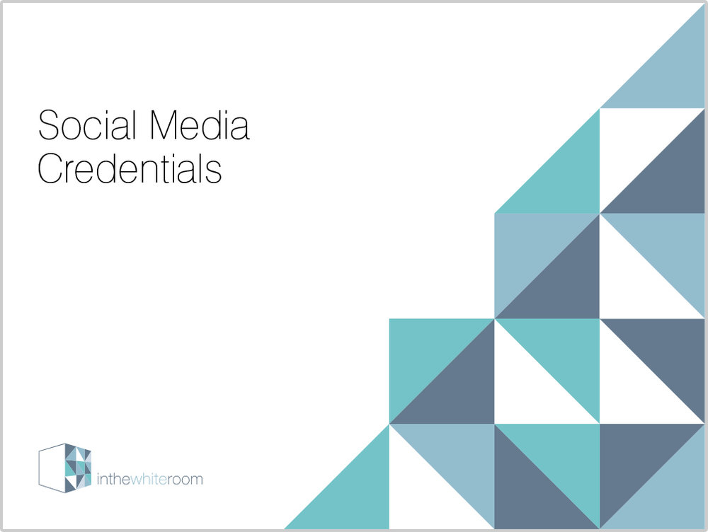 Social Media Credentials