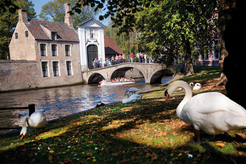 Brugge begijnhof - beguinage