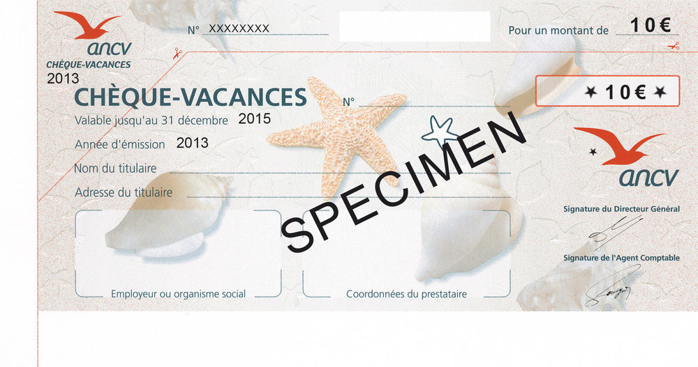 chèque-vacances ANCV