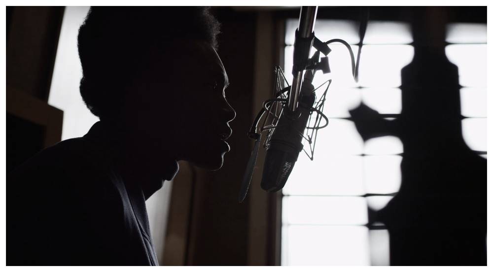 """Mr Burberry"" Benjamin Clementine Recording Session"