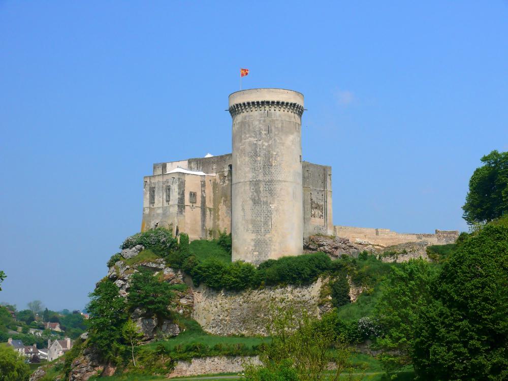 Le château de Guillaume le Conquérant, à Falaise