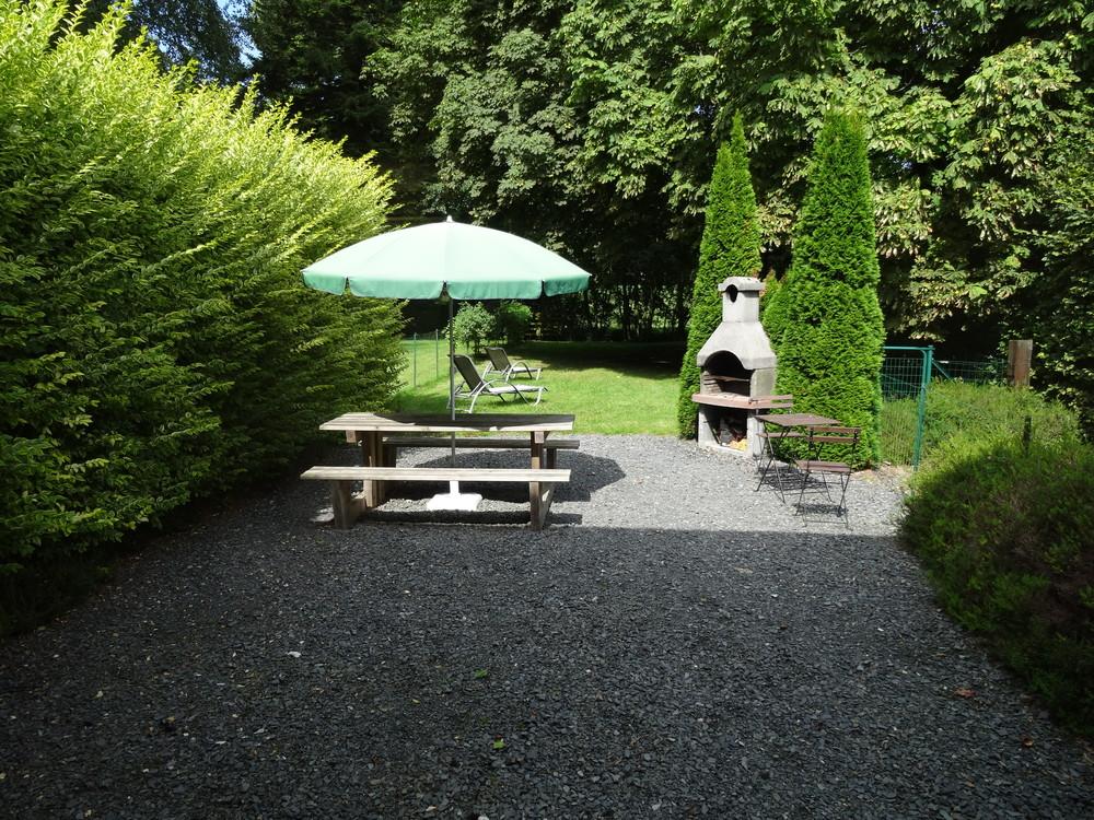 Gîte Delille tuin