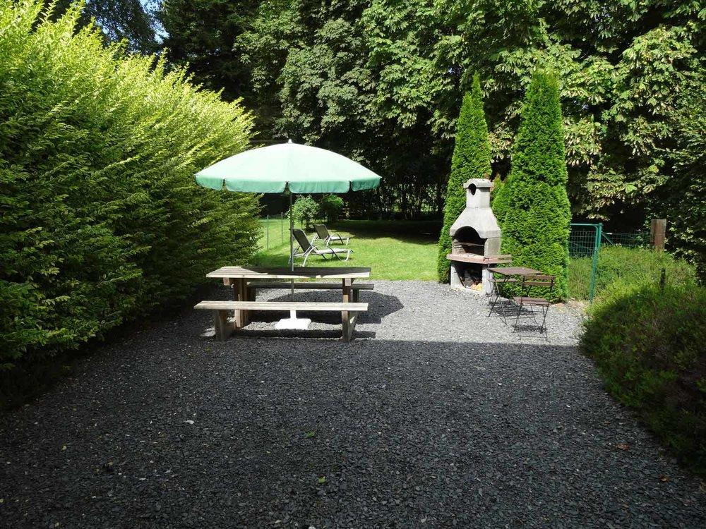 Gîte Delille - le jardin