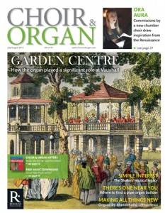 Choir Organ July/August 2016 cover