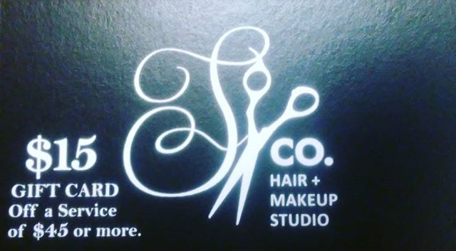 All new clients heres a $15 gift card....come see me Styling Co. Belmar 732-280-2511