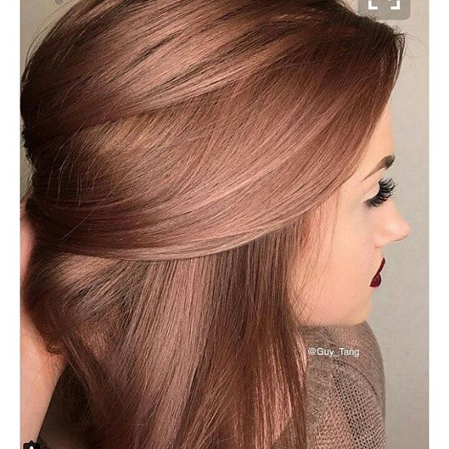 Some Rose Gold color.....#pinterest#hairinspo#belmar#stylingco#comeseeme#7322802511