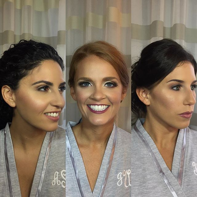 Gorgeous bridesmaids I had the pleasure of doing at our on location wedding yesterday ! Makeup by me▪️hair by @hairbyamymila & @chelsea_cuts ✨ . . . . . . . . . . . . . #bridal #bridalmakeup #wedding #redbank #redbanknj #comeseeus #makeupatrist #belmar #belmarnj #monmouthcounty #flawless #mua #njmua #hudabeauty