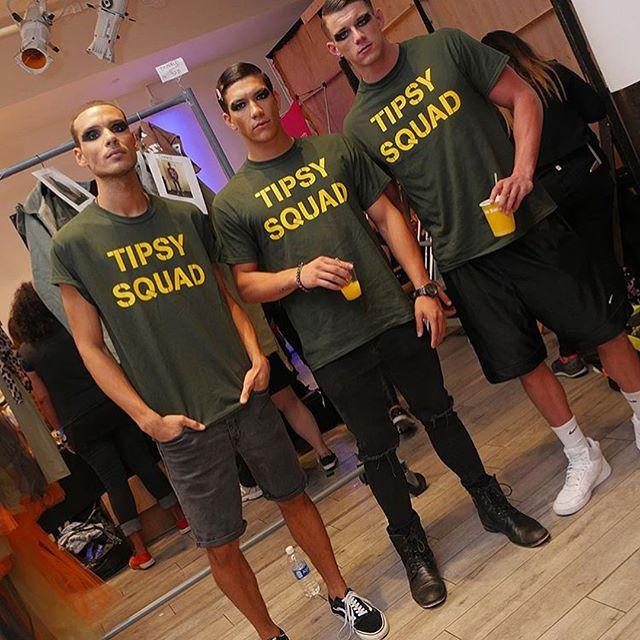 #nyfw #tipsysquad #trooptipsy #tumblerandtipsy ✌🏼 @makeupbymichele @rickys_nyc @janetcollection @nymbrands