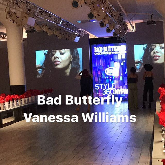 #nyfw #badbutterfly #vanessasimmons #badass 🦋 @nymbrands @makeupbymichele @janetcollection @rickys_nyc