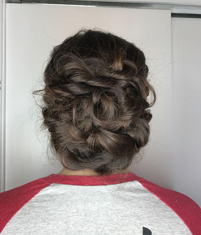 #updo @stylingco #weddinghair #belmar #hairbyme