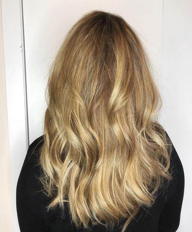 #hairbyme @stylingco blonde balayage