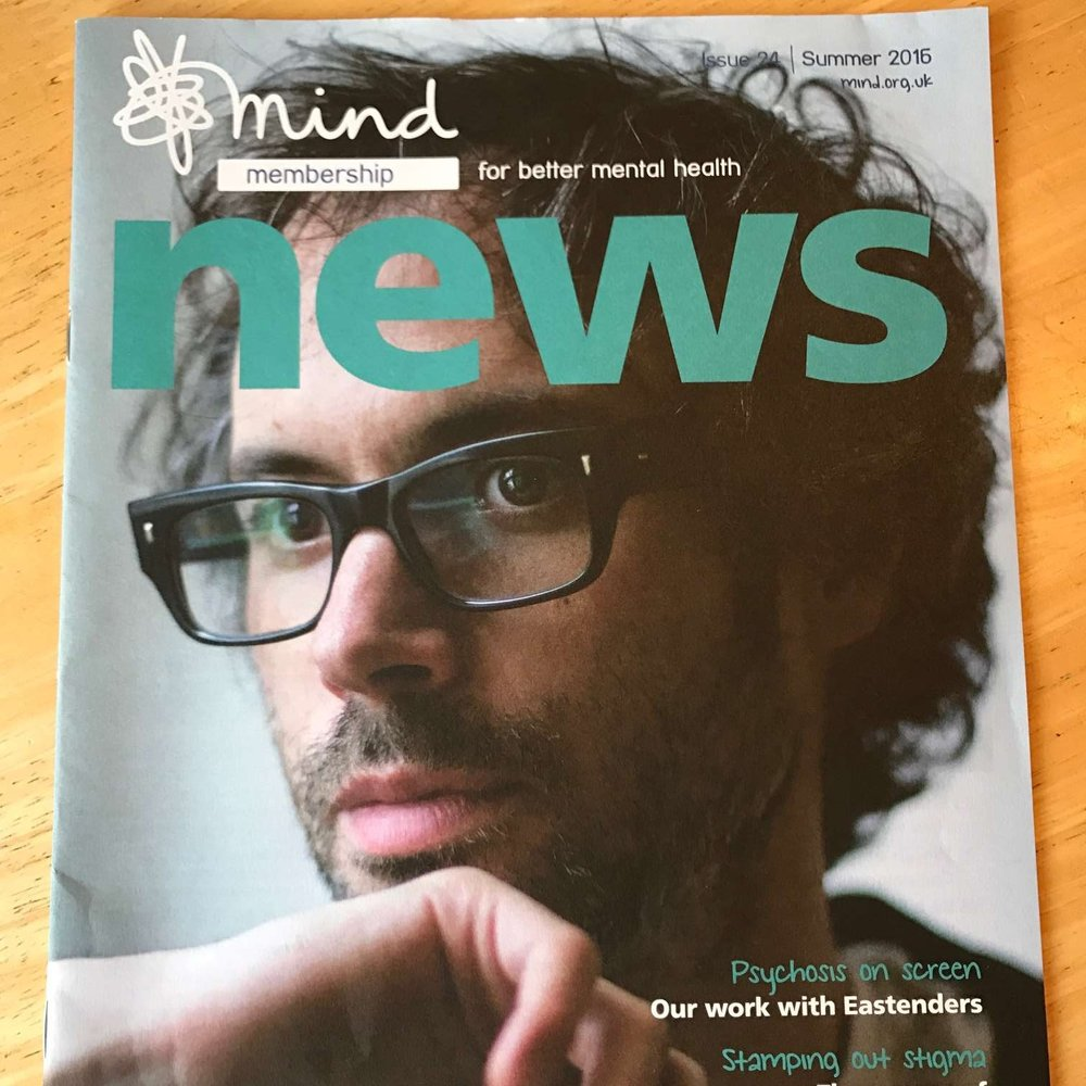 Pianist James Rhodes, who shared his experience of multiple mental health problems.