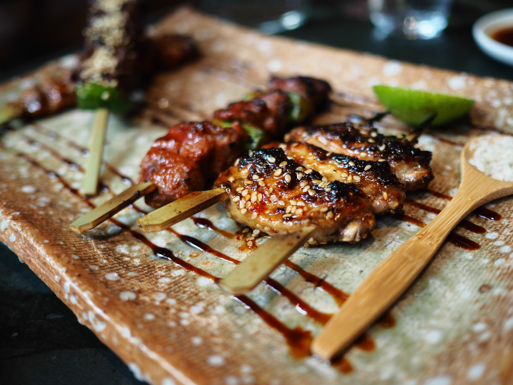 Roka Main Course option - Grilled Skewer Selection