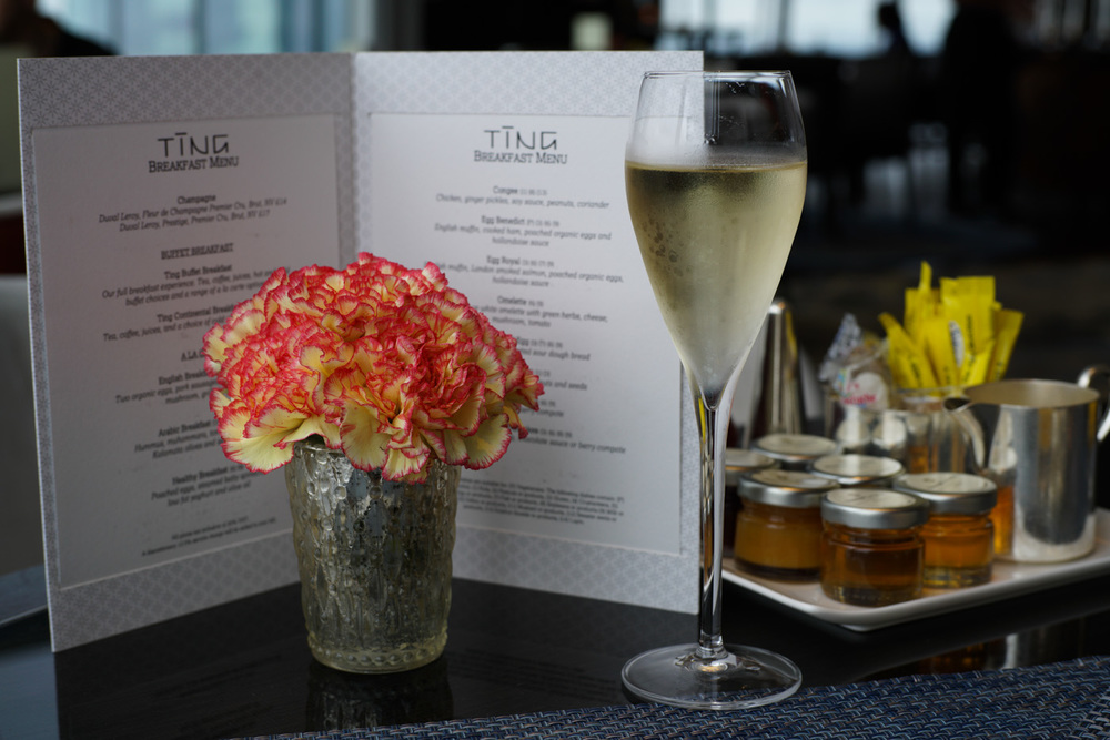 Champagne Breakfast at Ting