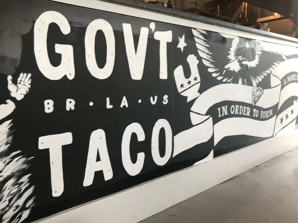 The Advocate - We hold these tacos...