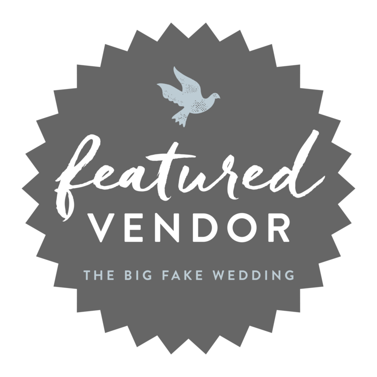 "An amazing honor to be a featured vendor at the 2016 Big Fake Wedding New England.  Stay tuned for pictures when an exclusive blog post about the event is posted on ""Ruffled""."
