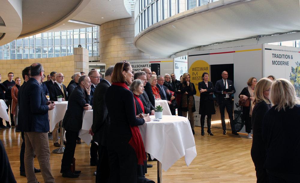 Eröffnung der Wanderausstellung am 23. Januar 2019 im Landtag NRW / Foto: LWL