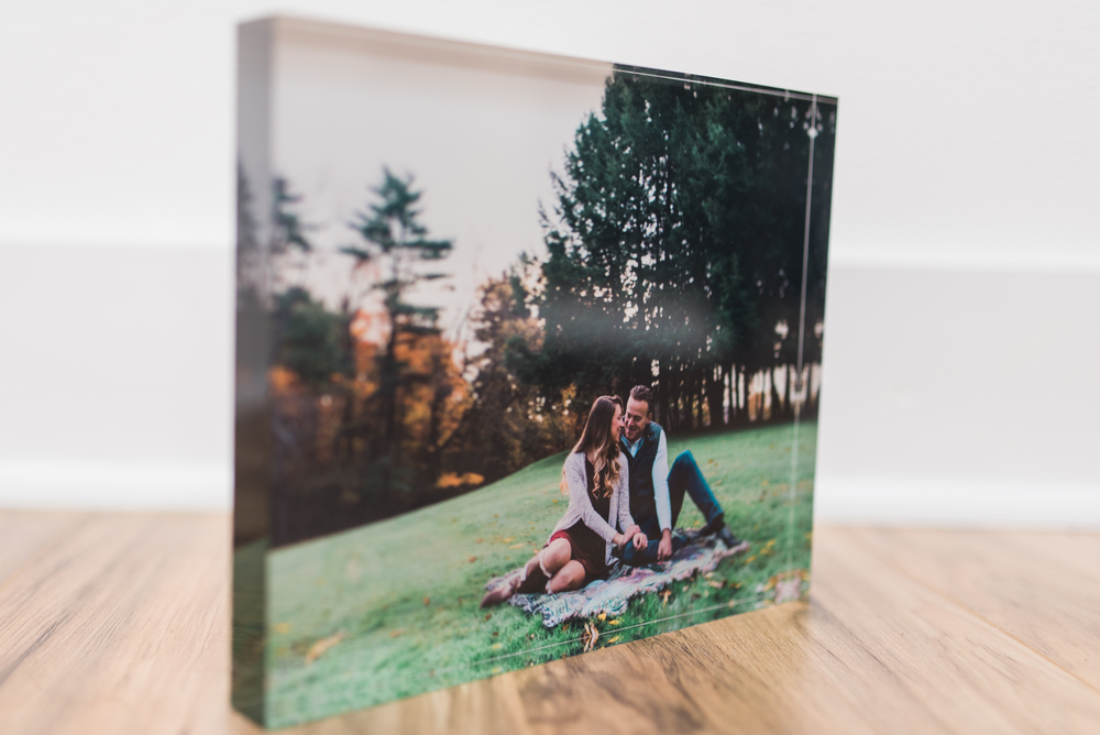 Pittsburgh Wedding Photographer - Fine Art Acrylic Block