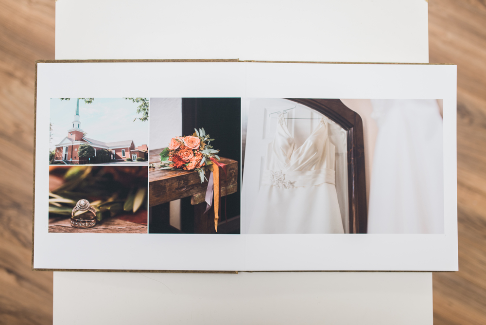 Pittsburgh Wedding Photographer - Fine Art Eco-friendly wedding album 1