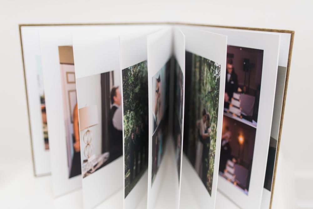 Pittsburgh Wedding Photographer - Fine Art Eco-friendly wedding album 3