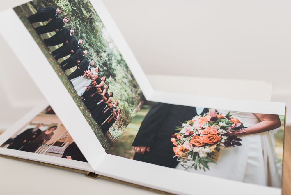 Pittsburgh Wedding Photographer - Fine Art Eco-friendly wedding album 2