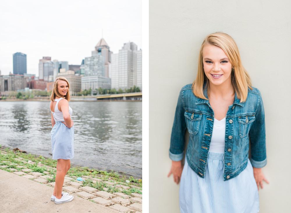 Molly Senior Portraits | North Shore Pittsburgh Senior Pictures 9