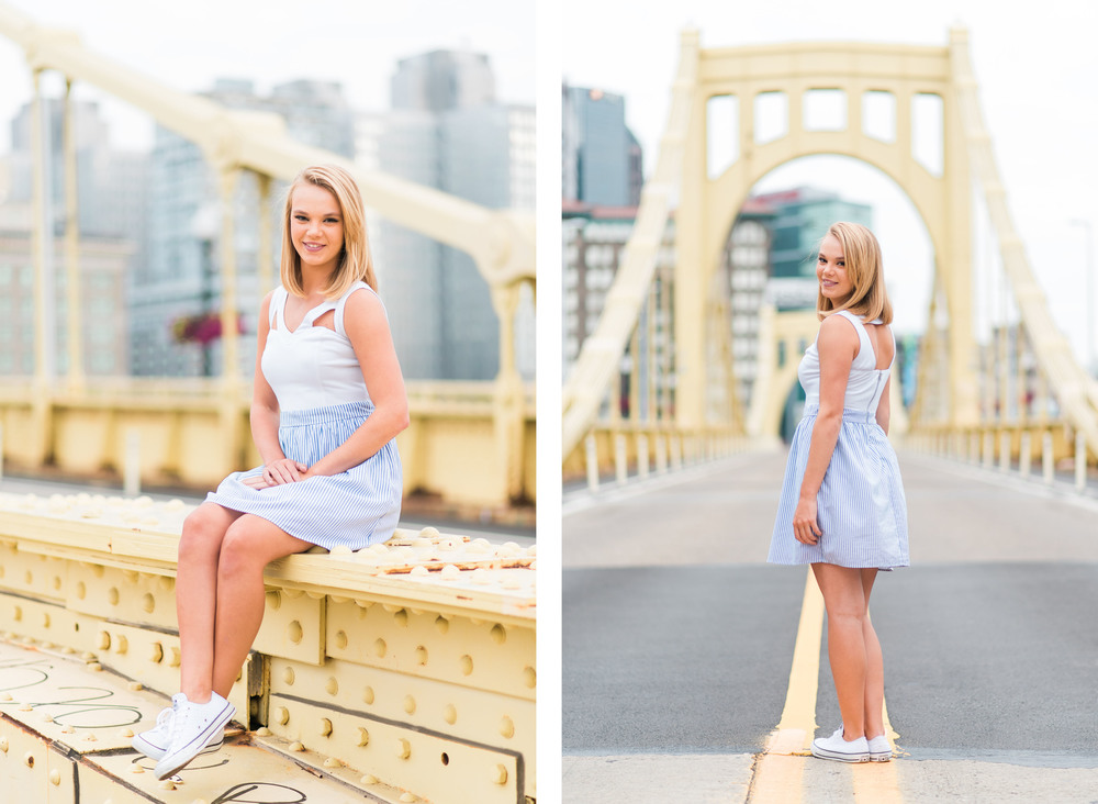 Molly Senior Portraits | North Shore Pittsburgh Senior Pictures 17