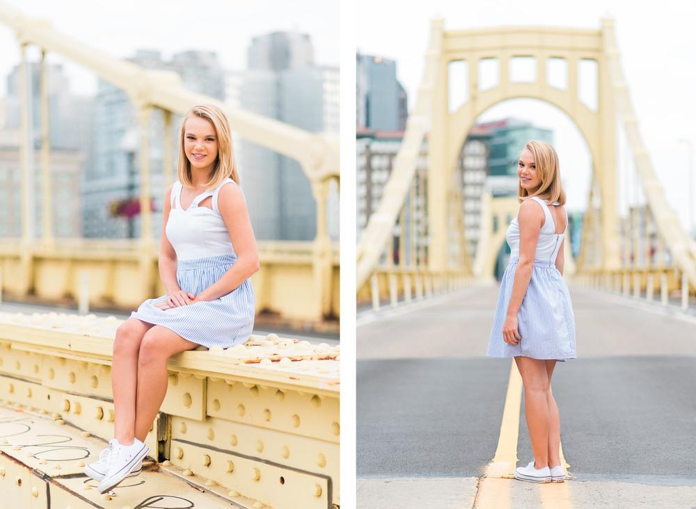 Molly Senior Portraits | North Shore Pittsburgh Senior Pictures 17