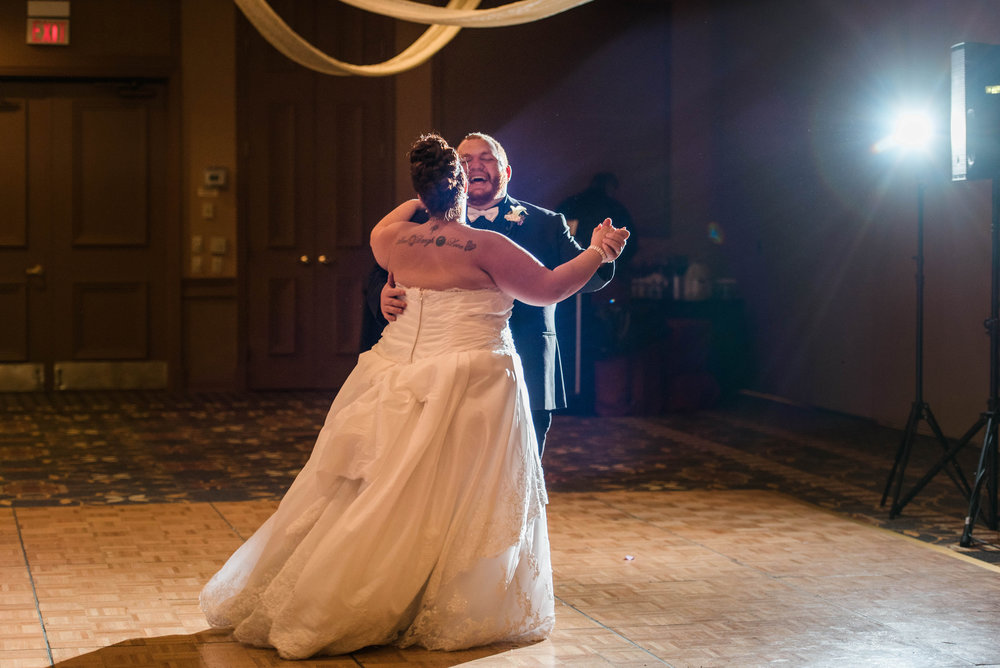 Ashley and Rocko | Pittsburgh Wedding Photographer | Embassy Suites