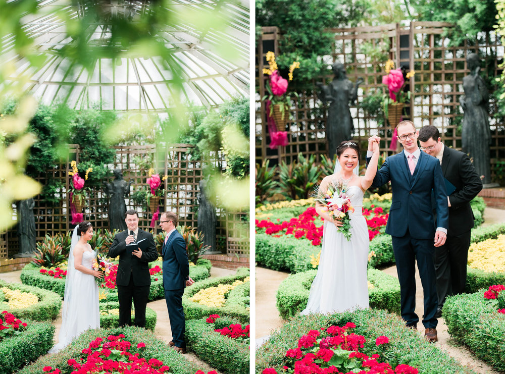 pittsburgh wedding photographer phipps conservatory and botanical gardens