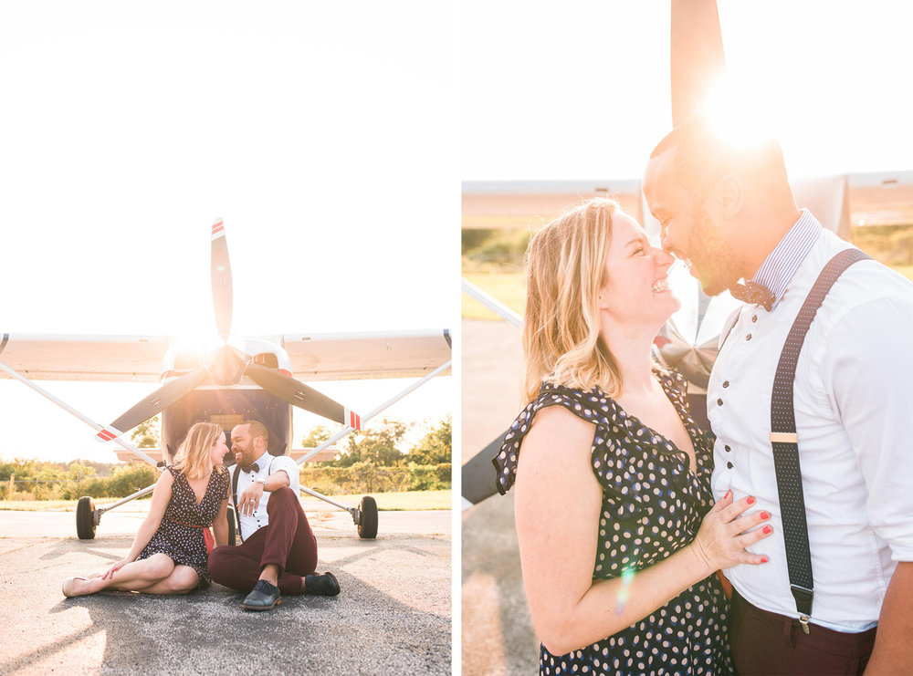 pittsburgh wedding photographers airport photoshoot