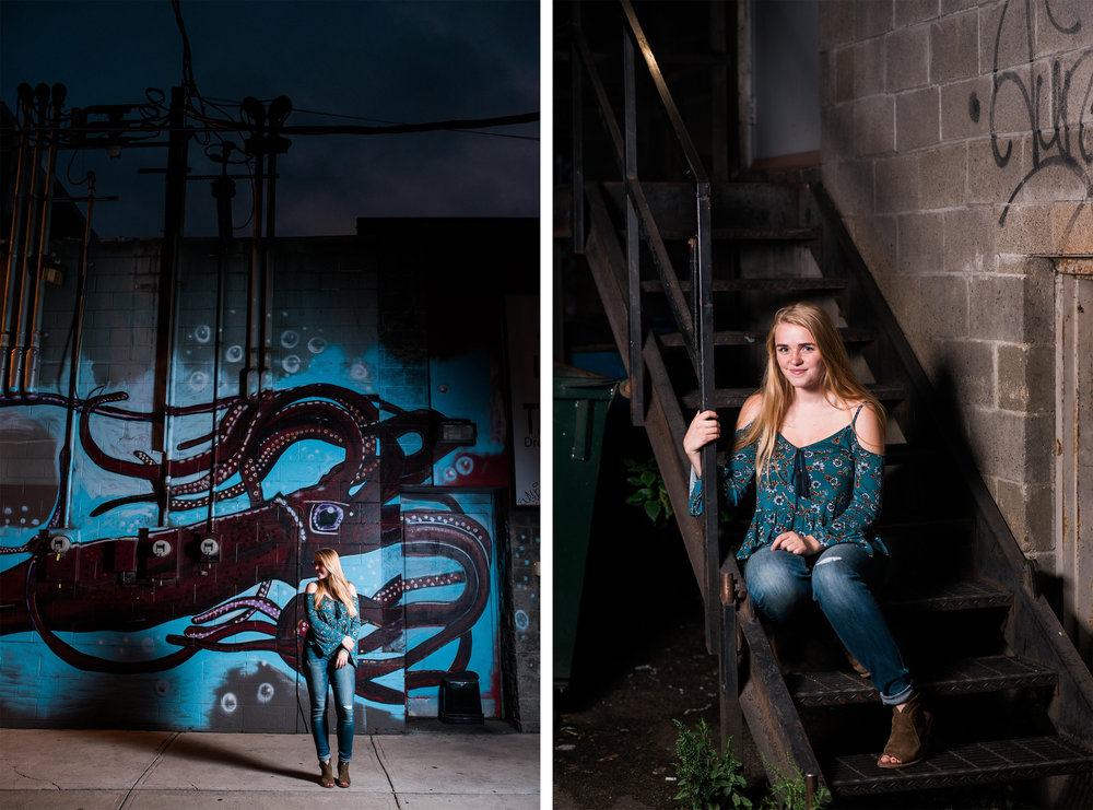 pittsburgh senior pictures strip district
