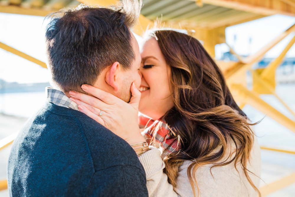 pittsburgh wedding photographers, a downtown engagement