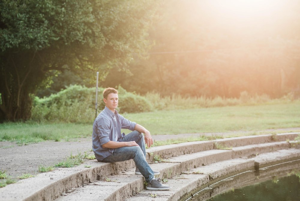 panther hollow senior portraits