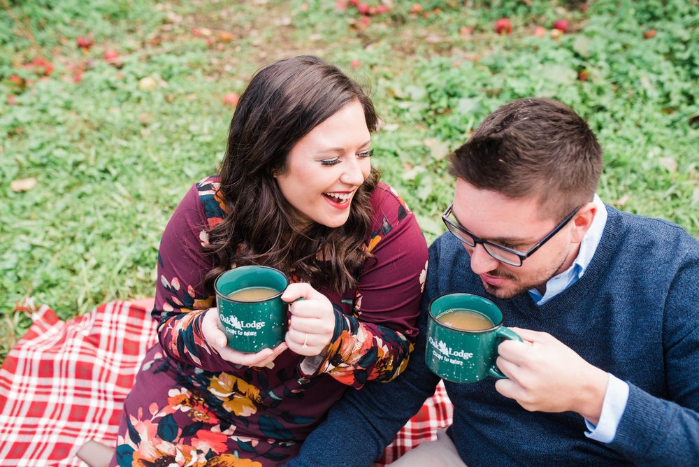 pittsburgh fall engagement session