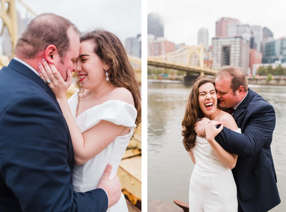 Pittsburgh Engagement Photographer North Shore