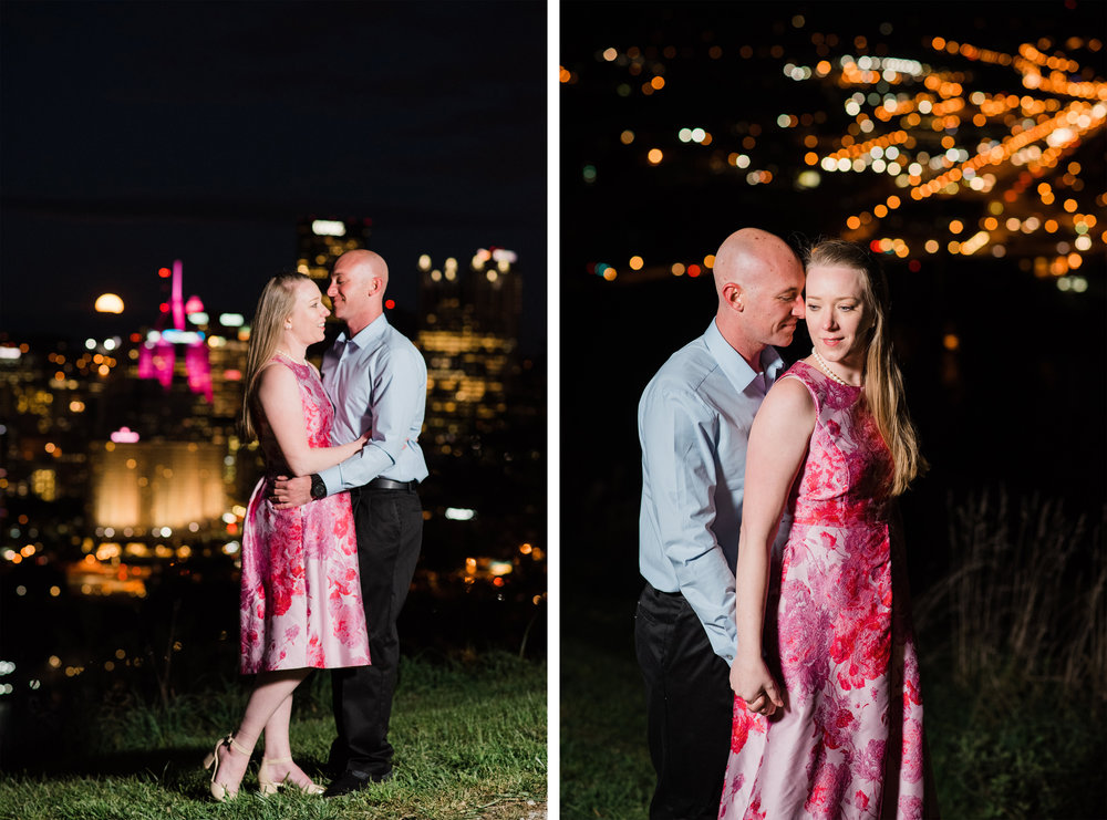 mt washington engagement pictures