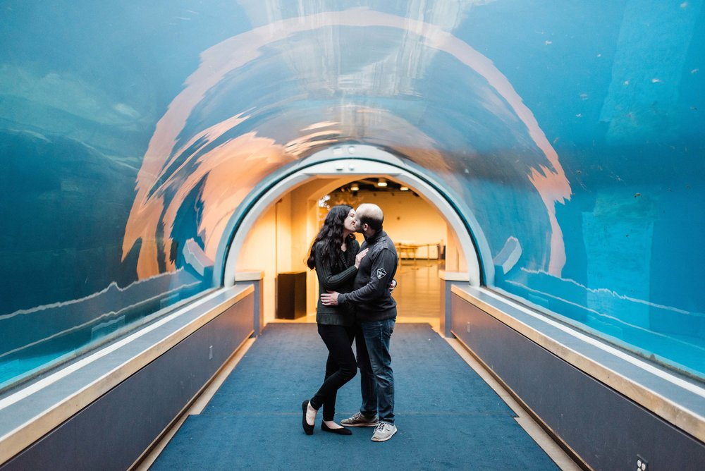 Pittsburgh Zoo Engagement Session