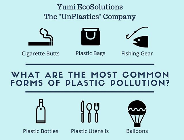 Do you know what the most common form of plastic pollution is? * * *  #thereisnoplanetb #earth #plasticfree #sustainability #ecofriendly