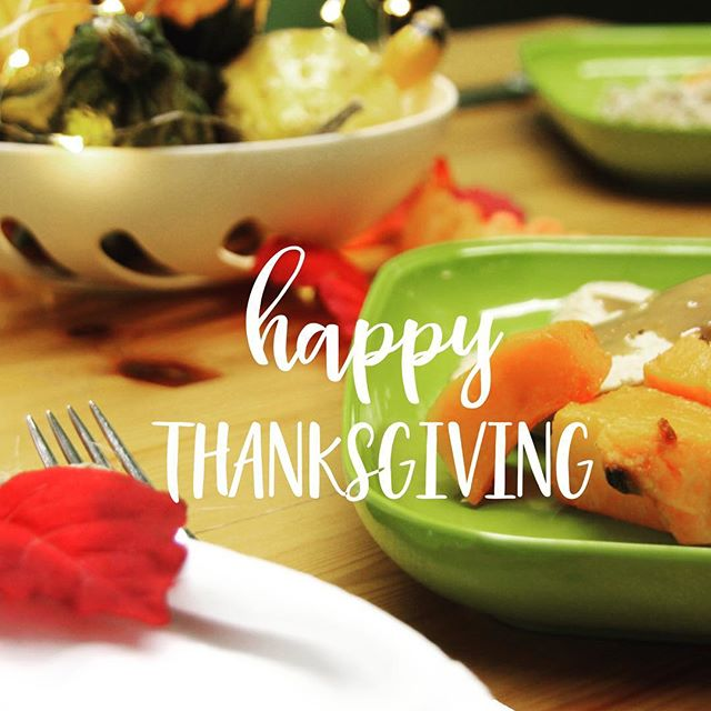 A very Happy Thanksgiving from the Yumi family to yours! 🦃