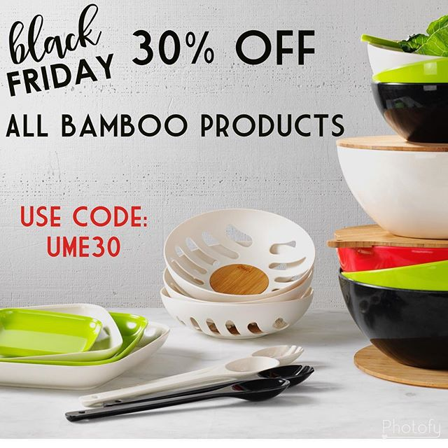 Today through Monday, save 30% off ALL Bamboo Products (online only)! * * * * * #blackfriday #sale #shoppingonline #shoppingtime #shopinyourpjs #YumiEcoSolutions #PlantsNotPlastic #sustainableliving #sustainabledesign #renewable #biodegradable #ecofriendly #ecolifestyle #ecodesign