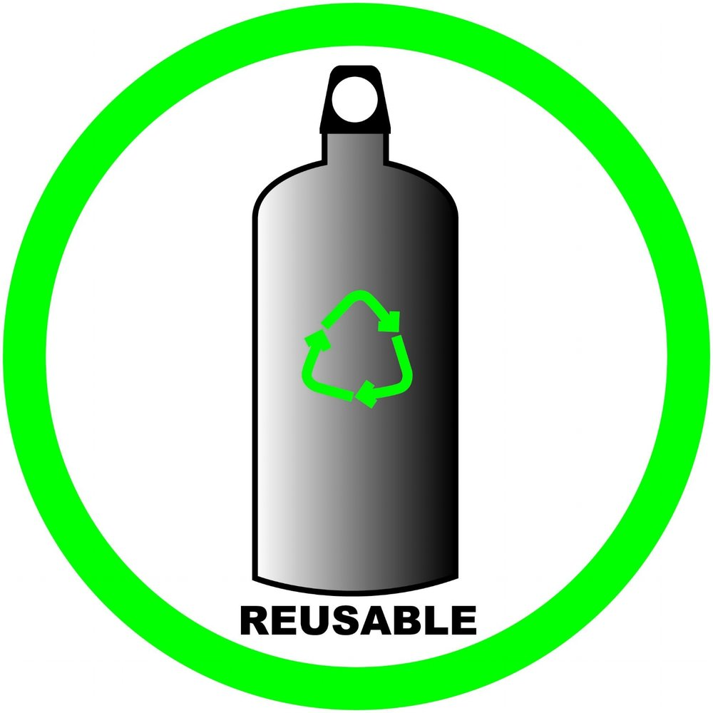 Invest in 1 or 2 reusable water bottles - Rather than buying single-use plastic water bottles, buy one or two reusable bottles. This will not only limit plastic use, but it will also save you money in the long run!
